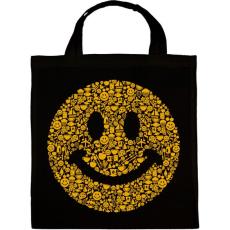 PRINTFASHION Smile - Vászontáska - Fekete