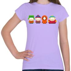 PRINTFASHION South Park - Női póló - Viola