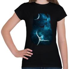 PRINTFASHION spacemascream-01.png - Női póló - Fekete