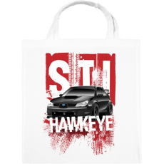 PRINTFASHION STI Hawkeye - Vászontáska - Fehér
