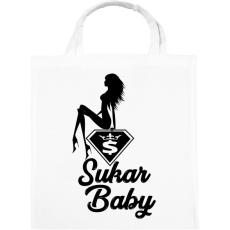 PRINTFASHION Sukar Baby - Vászontáska - Fehér