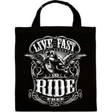 PRINTFASHION Szabad motoros - Vászontáska - Fekete