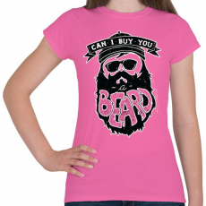 PRINTFASHION Szakáll biznisz - Női póló - Rózsaszín
