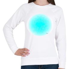 PRINTFASHION Szerelmes szivek 3 - Női pulóver - Fehér