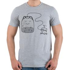 PRINTFASHION Tea-shirt - Férfi póló - Sport szürke