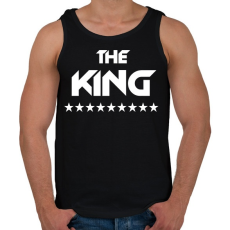 PRINTFASHION The King - Férfi atléta - Fekete