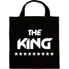 PRINTFASHION The King - Vászontáska - Fekete