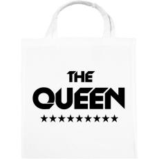 PRINTFASHION The Queen - Vászontáska - Fehér