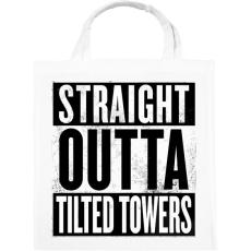 PRINTFASHION Tilted Towers - Vászontáska - Fehér