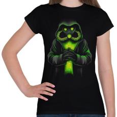 PRINTFASHION Toxicitás - Női póló - Fekete