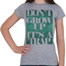 PRINTFASHION Trap - Női póló - Sport szürke