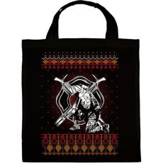 PRINTFASHION Tűzoltó karácsony - Vászontáska - Fekete