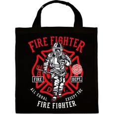 PRINTFASHION Tűzoltó - Vászontáska - Fekete