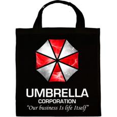 PRINTFASHION Umbrella Corp. - Vászontáska - Fekete