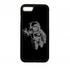 PRINTFASHION Űrhajós - Telefontok - Fekete hátlap