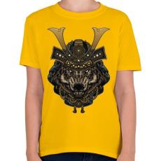 PRINTFASHION Veszélyes szamuráj - Gyerek póló - Sárga