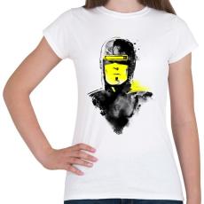 PRINTFASHION Vhs man - Női póló - Fehér