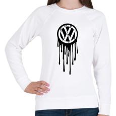 PRINTFASHION VolksWagen Fekete - Női pulóver - Fehér