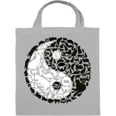 PRINTFASHION YinYang macskák - Vászontáska - Szürke