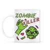 PRINTFASHION Zombie Killer - Bögre - Fehér