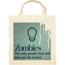 PRINTFASHION Zombies - Vászontáska - Natúr