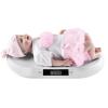 PRO-TEC [pro.tec]® Digitális babamérleg 20 kg-ig TARA funkció LCD-kijelző