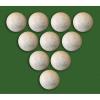 Profi labdák asztali focihoz, 10 db