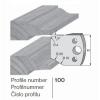 Profilkés - 100