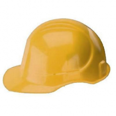 Prohelm 6-pontos védősisak, sárga