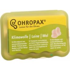 Protina Pharma Ohropax Klíma-Wolle gyapjú füldugó 6 pár