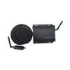 PTZOPTICS HuddlePod Air BIG Audio vezeték nélküli USB telefonkihangosító, fekete