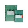 Pukka pad Spirálfüzet, A4+, kockás, 100 lap, PUKKA PAD, Metallic Jotta