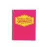 Pukka pad Spirálfüzet, A4, kockás, 100 lap, PUKKA PAD Neon, rózsaszín