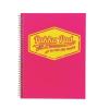 """Pukka pad Spirálfüzet, A4, vonalas, 100 lap,  """"Neon"""", rózsaszín"""