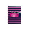 """Pukka pad Spirálfüzet, A4+, vonalas, 100 lap, PUKKA PAD, """"Navy Jotta"""", rózsaszín"""