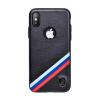 Puloka Criss-cross prémium hátlaptok Apple iPhone X, fekete