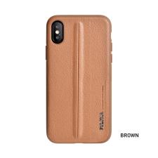 Puloka Style prémium hátlaptok Apple iPhone 7/8, barna tok és táska
