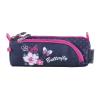 Pulse Tolltartó, cipzáras, PULSE  Flowers Butterfly , kék-rózsaszín