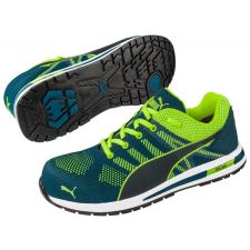 b6c11a57833e Puma 643170 Elevate Knit Green S1P ESD HRO SRC védőcipő munkavédelmi cipő