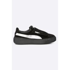 Puma - Cipő Platfom Strap Satin - fekete