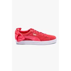 Puma - Cipő Suede Bow Jr - erős rózsaszín