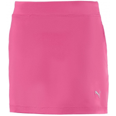 Puma Girls Solid Knit Skirt Carmine Rose 128