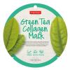 PureDerm Green Tea circle bőrtisztító és hidratáló fátyolmaszk