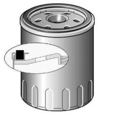 Purflux Olajszűrő LS489A olajszűrő