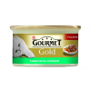 Purina Gourmet Gold Lazaccal és csirkével szószban 85 g