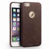 QIALINO Ultra slim iPhone 6 eredeti bőr hátlap, tok, barna