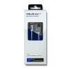 Qoltec Cabel Lightning / USB ; MFI ; strengthened ; 1.5m ; Silver