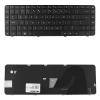Qoltec Notebook billentyűzet HP CQ62 CQ56 fekete