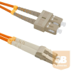 Qoltec Optic Patchcord SC/UPC - LC/UPC ; Multimode ; 50/125 ; OM2 ; Duplex ; 2m