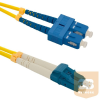 Qoltec Optic Patchcord SC/UPC-LC/UPC ; Singlemode ; 9/125 ; G652D ; Duplex ; 5m